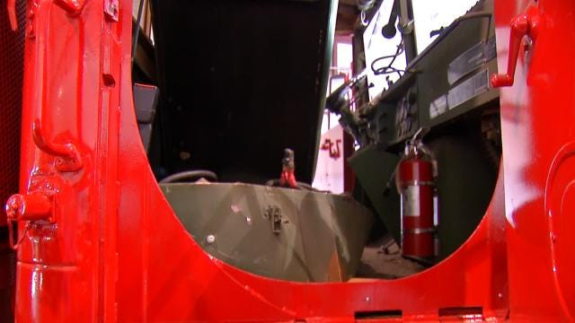 Bristow's Fire Chief Back At Work Following Explosion