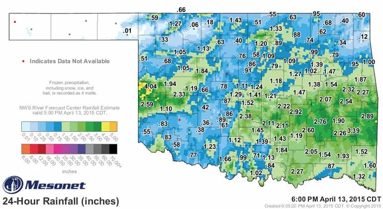 Dick Faurot's Weather Blog: More Rain On The Way