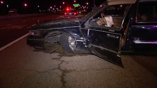 Oklahoma Troopers Arrest Woman After Hit-And-Run Crash