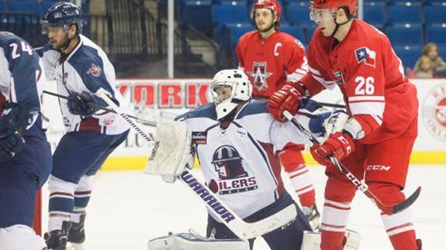 Unanswered Goals Doom Oilers In Playoff Game 1