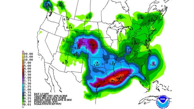 Dick Faurot's Weather Blog: Brief Break Thursday; Rain Likely Friday, Saturday