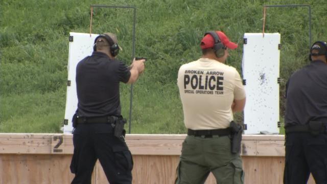 Broken Arrow Police Recruits Train On Ethics, Firearms