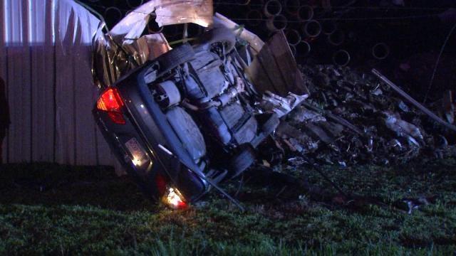 Cops Credit Good Samaritan With Finding Tulsa Crash Victim