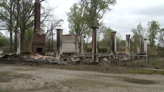 Arsonist Destroys Former Picher Mining Museum, Officials Say