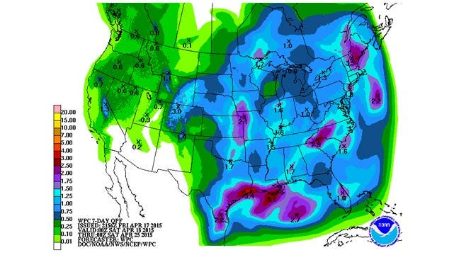 Dick Faurot's Weather Blog: Unsettled Weekend; Storms Likely, Some Severe
