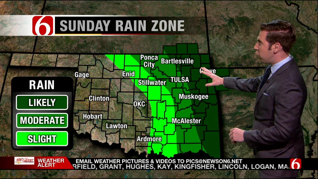Chance Of Severe Thunderstorms Continues This Weekend