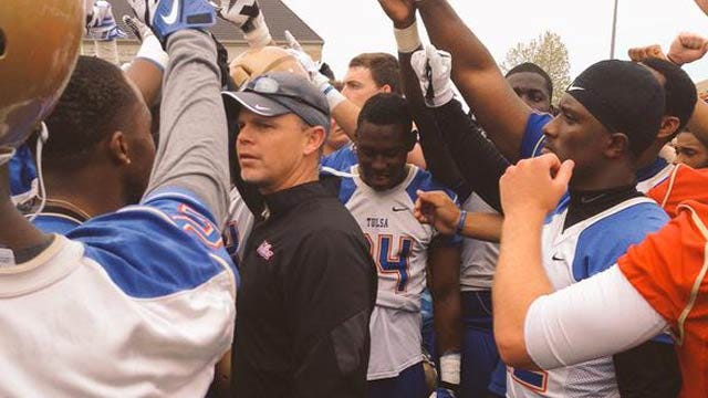 Tulsa Plays First Spring Game Under New Head Coach