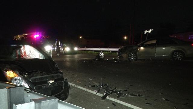 Wrong-Way Driver Injures Tulsa Woman