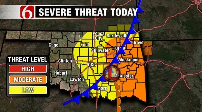Severe Thunderstorm Expires In Northeastern Oklahoma