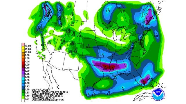 Dick Faurot's Weather Blog: Another Active Pattern This Week