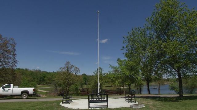 Memorial Dedicated To Oklahoma Veteran Vandalized