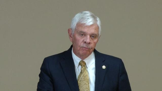 Tulsa County Sheriff Glanz: No Plans To Resign
