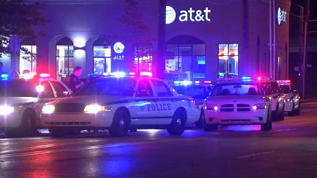 Tulsa Police Chase Ends At Scene Of Separate Robbery