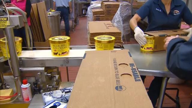 BA Blue Bell Plant Closed Until Products Are Safe