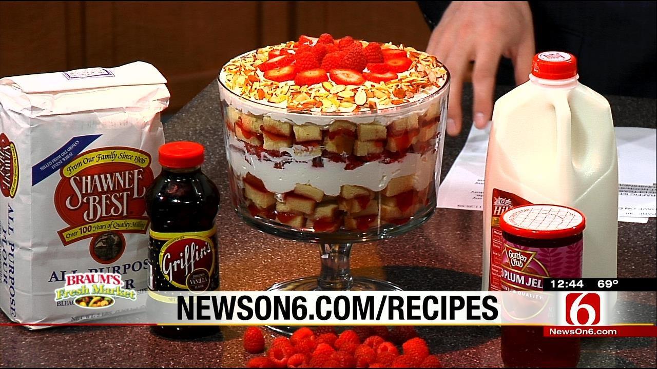 Creamy Dreamy Berry Trifle