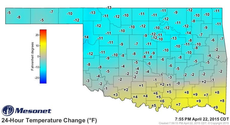 Dick Faurot's Weather Blog: Cool Again Thursday, Chance Of Severe Storms Friday
