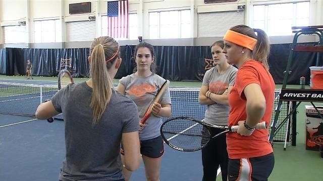 Ukrainian Teen Leads OSU Women's Tennis To Big 12 Championship