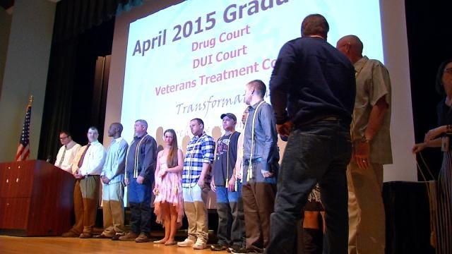 Drug Court Graduates Praise Tulsa Program