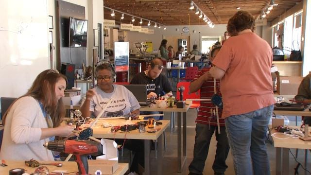Tulsa Educators Learn To Inspire Kids With Small Remote Helicopters
