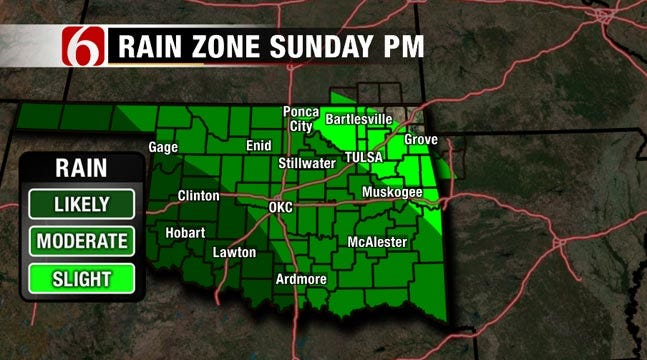 Warm Green Country Weekend Before Next Storm System