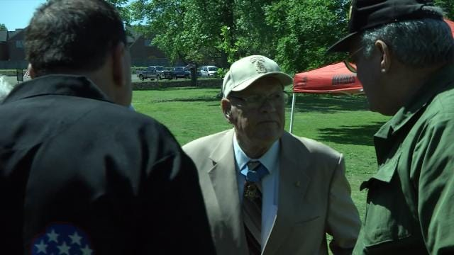 Oklahoma Medal Of Honor Recipient Welcomed Back To Tulsa
