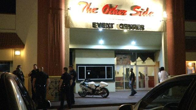 One Wounded In Shootout At South Tulsa Event Center