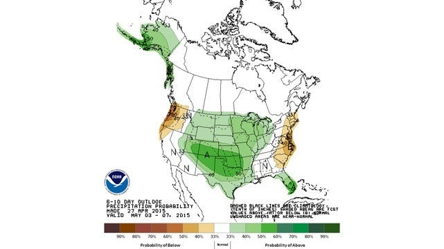 Dick Faurot's Weather Blog: Stable, Warmer Weather Ahead