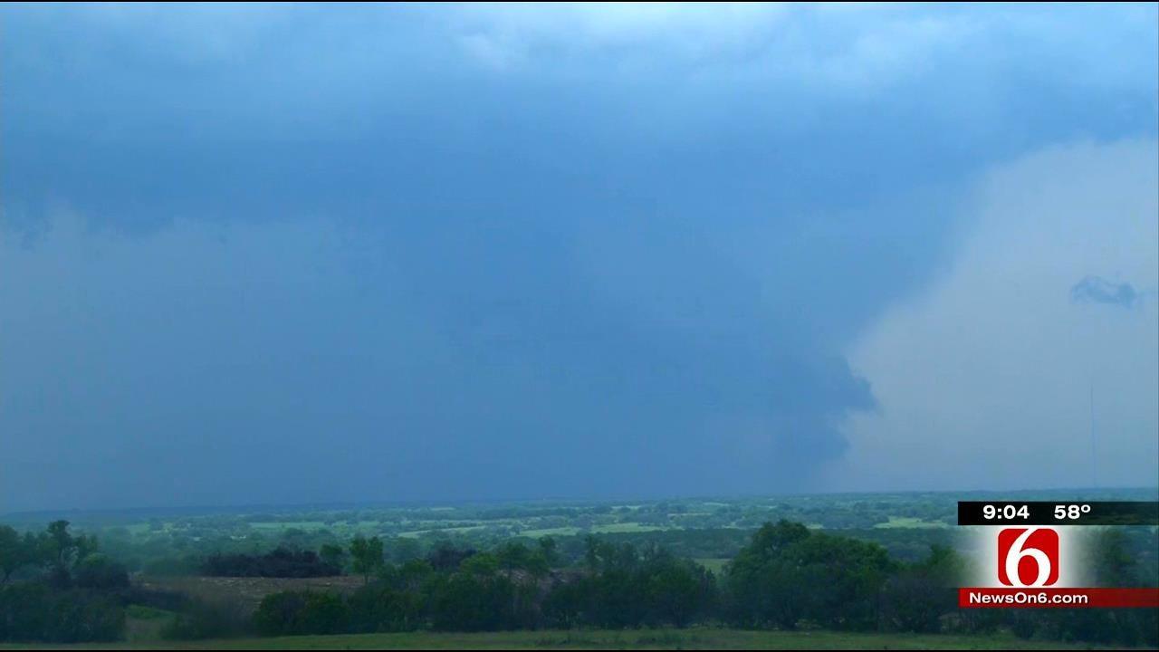 News On 6 Storm Trackers Capture Texas Tornado On Video