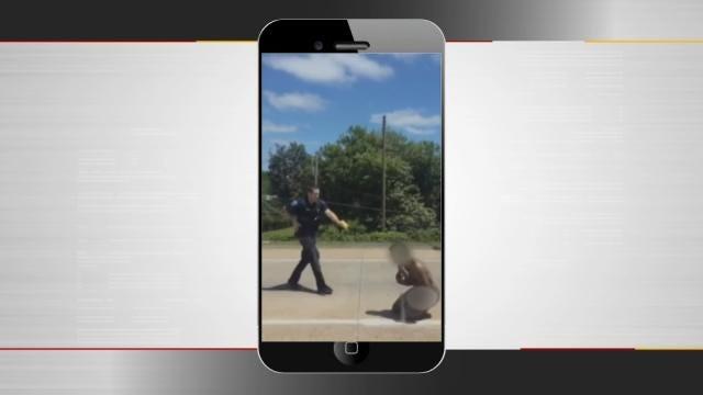 Police Explain Protocol After Tazing Naked Man On Tulsa Highway