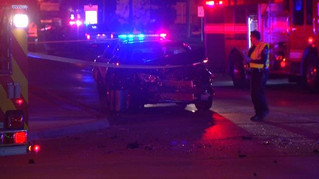Tulsa Police Investigating Woman Killed In Crash As Homicide