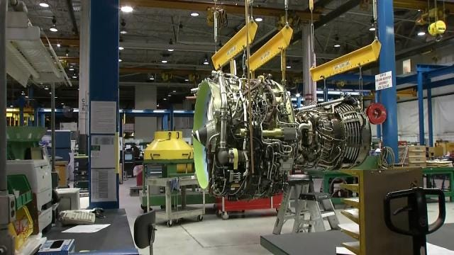 American Airlines Showcases Maintenance Plant, Turnaround Times
