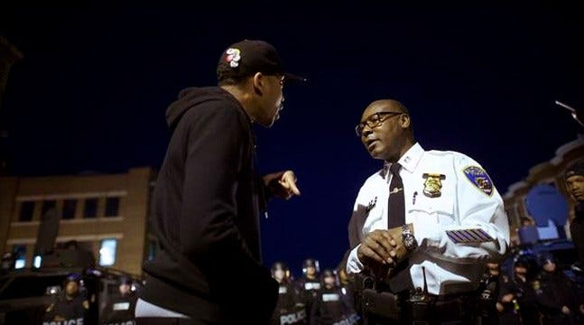 Baltimore, Hoping To Avoid Unrest, Goes Under Curfew