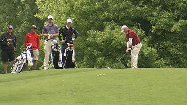 Big 12 Golf Tournament Continues