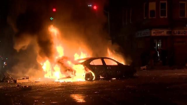 Calm Follows Rioting, Chaos In Baltimore