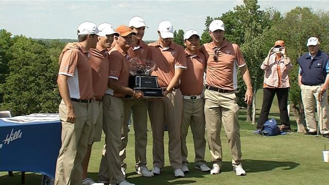 Big 12 Golf Tournament Wraps, Texas Takes Title