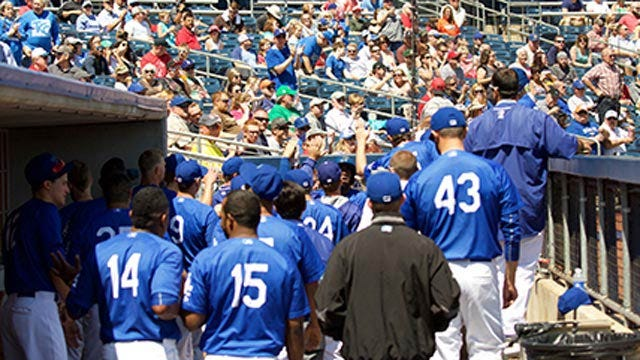 Drillers Fall 10-9 After Arkansas' 9th Inning Rally