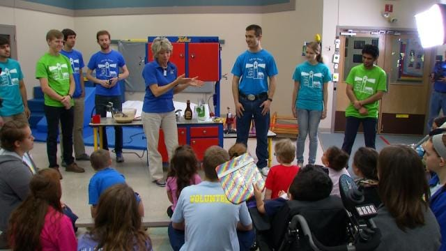 TU Students Deliver Teaching Kitchen To Special Needs Students