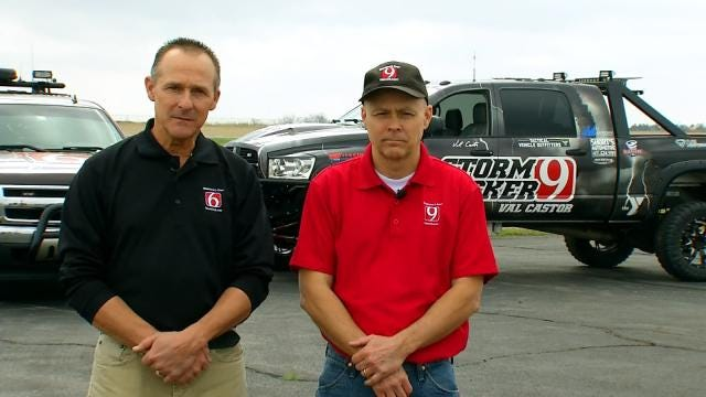 Brothers Share Storm Chasing Passion To Keep Oklahomans Safe