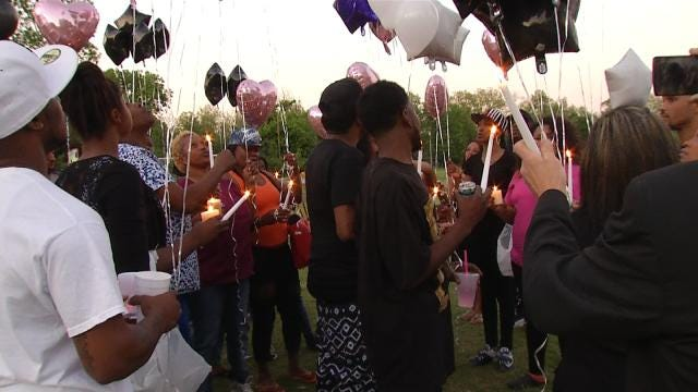 Vigil Held For Tulsa Homicide Victim