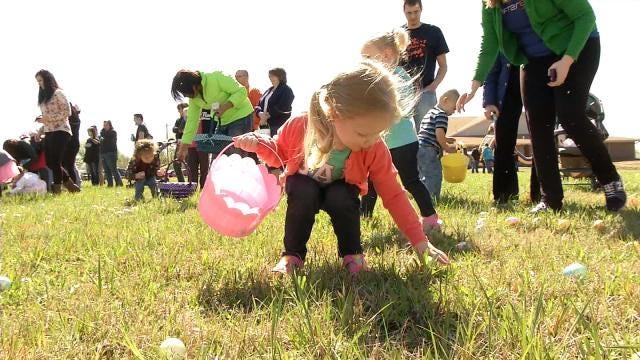 Easter Eggs Send Glenpool Kids Hunting For Fun