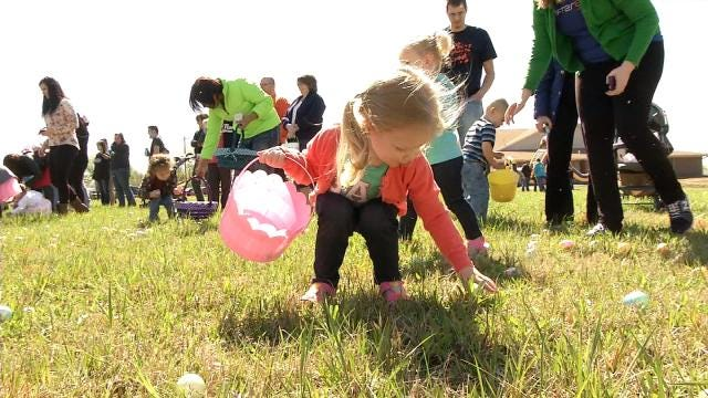 Easter Eggs Send Glenpool Kids Hunting For Fun