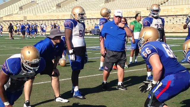 TU Football Continues Practice In Preparation For Spring Game, Upcoming Season