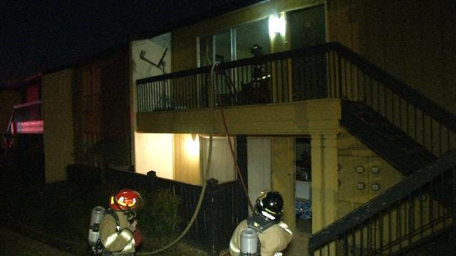 Tulsa Westminster Apartment Residents Displaced By Fire