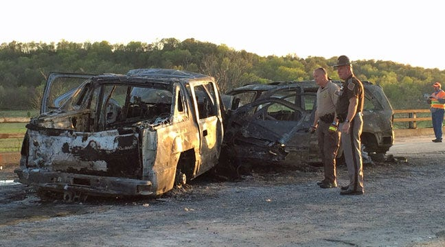 Investigation Continues Into Fiery Triple-Fatality Wreck In Muskogee County