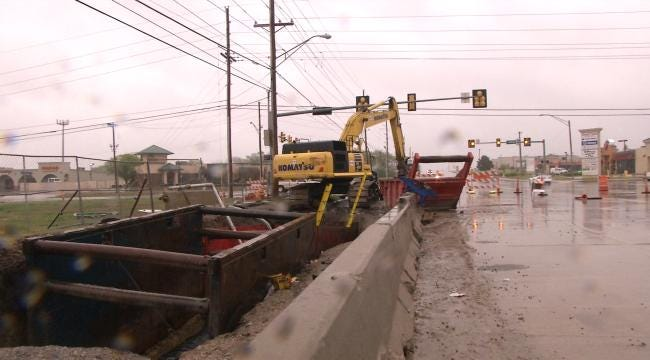 Waterline Replacement, Striping Projects To Affect Tulsa-Area Drivers