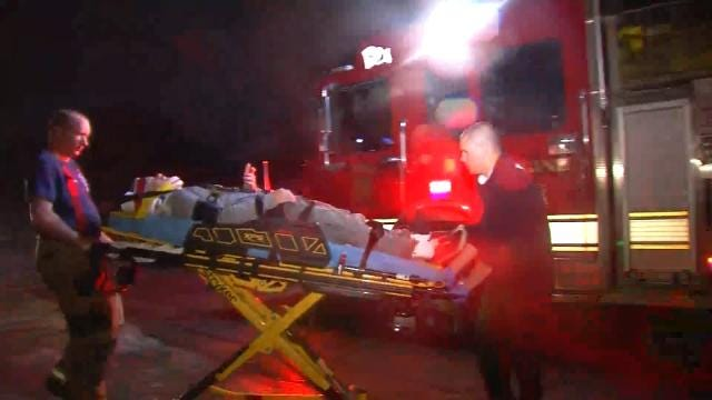 Intoxicated Man Found Sitting In Crashed Pickup Outside Tulsa Home