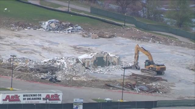 RiverWalk Movie Theater Reduced To Rubble
