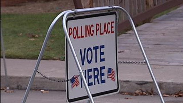 It's Election Day In Oklahoma