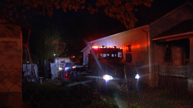 Police: Man Sleeping In West Tulsa RV Not Injured In Crash