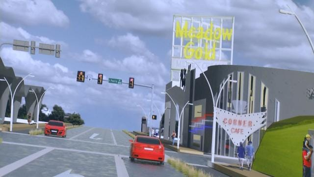OU Students Redesign 11th Street To Reflect Route 66 History